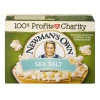 Newman's Own Microwave Popcorn Sea Salt
