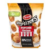 Tyson Any'tizers Breaded Popcorn Chicken Frozen