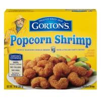 Gorton's Breaded Popcorn Shrimp Lightly Seasoned Frozen