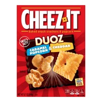 Cheez-It Duoz Baked Snack Crackers & Popcorn Caramel & Cheddar