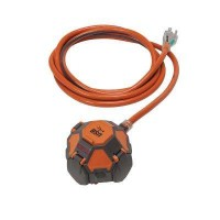 3-Outlet Power Ball Extension Cord Plus USB