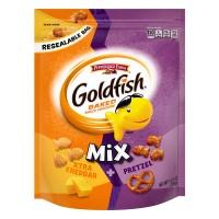 Pepperidge Farm Goldfish Mix Xtra Cheddar + Pretzel Crackers