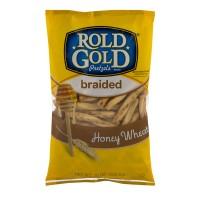 Rold Gold Pretzels Braided Twists Honey Wheat