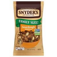 Snyder's of Hanover Pretzel Sourdough Nibblers Family Size Non - GMO
