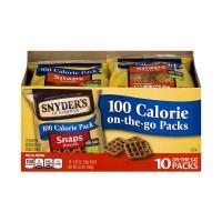 Snyder's of Hanover 100 Calorie On The Go Packs Pretzel Snaps - 10 pk
