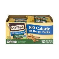Snyder's of Hanover 100 Calorie Pack Pretzel Sticks - 10 pk