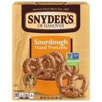 Snyder's of Hanover Sourdough Hard Pretzels Fat Free Non - GMO
