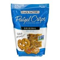 Snack Factory Pretzel Crisps Deli Style Original All Natural