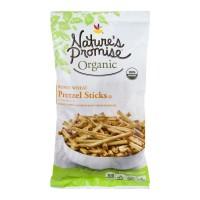 Nature's Promise Organic Pretzel Sticks Honey Wheat