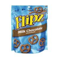 Pretzel Flipz Covered Pretzels Milk Chocolate