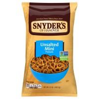 Snyder's of Hanover Pretzels Mini Unsalted Fat Free Non-GMO
