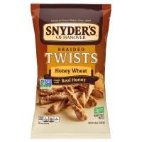 Snyder's of Hanover Pretzels Braided Twists Honey Wheat Non - GMO