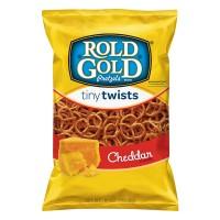 Rold Gold Pretzels Tiny Twists Cheddar
