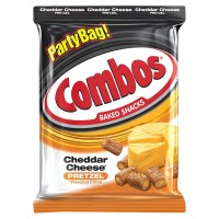 Combos Snacks Pretzel Cheddar Cheese
