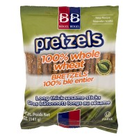 Beigel & Beigel Pretzels 100% Whole Wheat Bretzels Long Sesame Sticks
