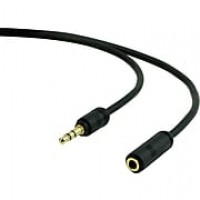 Staples 6' 3.5mm Auxiliary Audio Extension Cable, Black