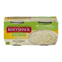 Kozy Shack Pudding Rice No Sugar Added - 4 pk