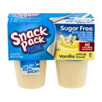 Snack Pack Pudding Vanilla Sugar Free - 4 pk