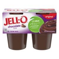 Jell-O Pudding Snacks Original Chocolate - 4 ct