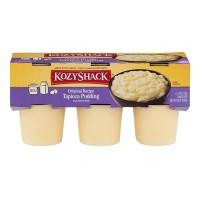Kozy Shack Pudding Tapioca Original Recipe - 6 pk
