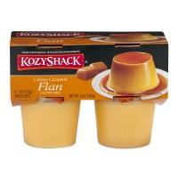 Kozy Shack Flan Creme Caramel - 4 pk
