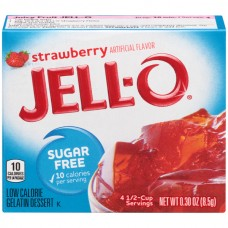 Jell-O Gelatin Dessert Sugar Free Strawberry