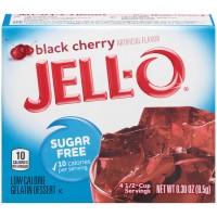 Jell-O Gelatin Dessert Black Cherry Sugar Free