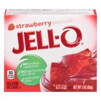 Jell-O Gelatin Dessert Strawberry
