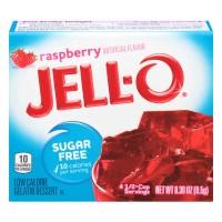 Jell-O Gelatin Dessert Raspberry Sugar Free