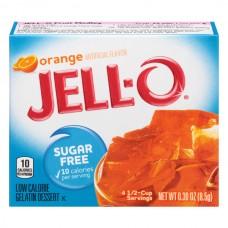 Jell-O Gelatin Dessert Orange Sugar Free