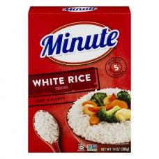 Minute Instant White Rice Enriched Long Grain
