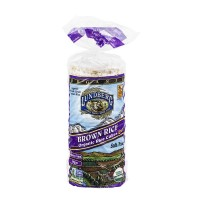 Lundberg Rice Cakes Brown Rice Salt Free Vegan Organic