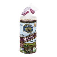 Lundberg Rice Cakes Wild Rice Lightly Salted Vegan Organic