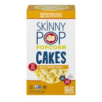SkinnyPop Popcorn Cakes Maple Brown Sugar - 12 ct