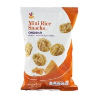 Stop & Shop Rice Snacks Cheddar Mini