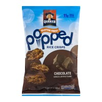 Quaker Popped Rice Crisps Chocolate Gluten Free