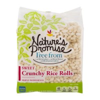 Nature's Promise Free from Crunchy Rice Rolls Sweet