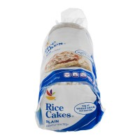 Stop & Shop Rice Cakes Plain Lightly Salted