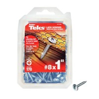 Teks #8 x 1 in. Phillips Zinc-Plated Steel Truss-Head Lath Screws (170-Pack)