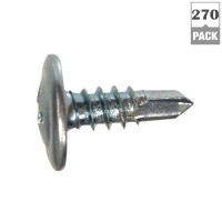 Everbilt #8 x 1/2 in. Truss Head Phillips Drive Lath Self-Drilling Screw 1 lb. Box (270-Pack)