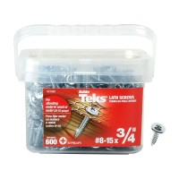 Teks #8-15 x 3/4 in. Lath Sharp Point Screw (600-Pack)