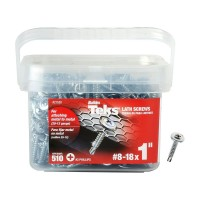 Teks #8-18 x 1 in. Lath Drill Point Screw (510-Pack)