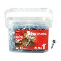 Teks #8-15 x 1 in. Lath Sharp Point Screw (510-Pack)