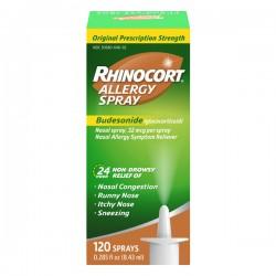 Rhinocort Allergy 24 Hour Non-Drowsy Nasal 120 Sprays