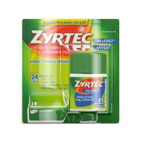 Zyrtec Allergy Relief 24-Hour 10 mg Tablets
