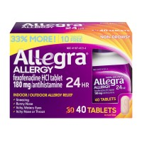 Allegra Indoor/Outdoor Allergy Relief 24 Hour Tablets