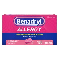 Benadryl Allergy Relief Antihistamine Ultratab