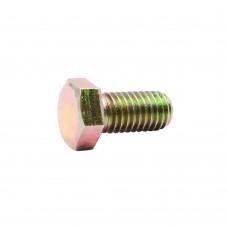 Everbilt 1/2 in. x 13 tpi x 1 in. Zinc-Plated Grade 8 Cap Screw