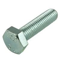 Everbilt M8 x 25 mm Zinc-Plated Steel Hex-Head Cap Screws (2 per Bag)