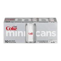 Diet Coke Mini Cans - 10 pk